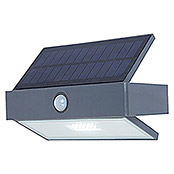 Lutec Aplique solar para exterior Arrow LED (Detector de movimiento, Blanco frío, IP44)