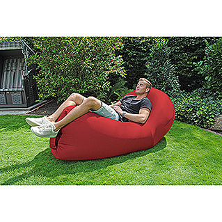Air Lounge Sofa Peacock (L x B: 180 x 90 cm, Rot)