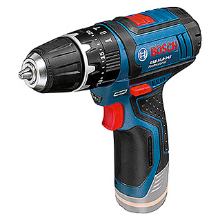 Bosch Professional Accuklopboorschroevendraaier GSB 12V-15 (Li-ion, Excl. accu, Onbelast toerental: 0 tpm - 1.300 tpm)