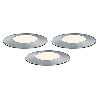 Paulmann Plug & Shine LED-Gartenspot-Set Floor Mini (1-flammig, 2,5 W, 24 V, IP65)