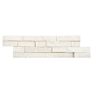 Ambiente by Palazzo Steenstrip Brick (10 x 40 cm, Wit, Mat)