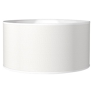 Home Sweet Home Lampenschirm Bling (Ø x H: 50 x 25 cm, Pure White, Baumwolle, Rund)