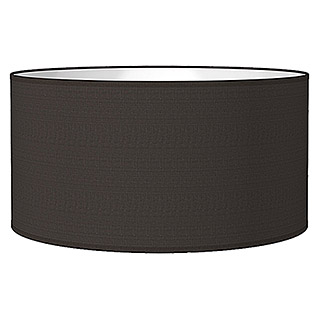 Home Sweet Home Lampenschirm Bling (Ø x H: 50 x 25 cm, Night Black, Baumwolle, Rund)