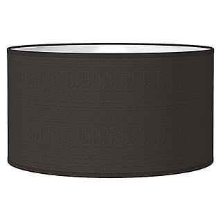 Home Sweet Home Lampenschirm Bling (Ø x H: 40 x 22 cm, Night Black, Baumwolle, Rund)