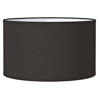 Home Sweet Home Lampenschirm Bling (Ø x H: 35 x 21 cm, Night Black, Baumwolle, Rund)