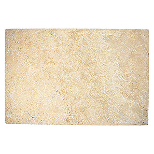 Antikmarmor Travertin Chiaro (40,6 x 61 cm, Beige, Matt)