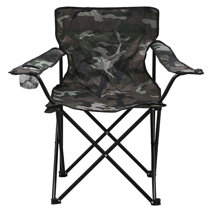 Campingstuhl (52 cm, Polyester, Camouflage)