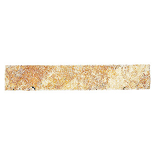 Sockelfliese Travertin SO 51470 (7 x 40,6 cm, Gold, Matt)