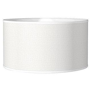 Home Sweet Home Lampenschirm Bling (Ø x H: 40 x 22 cm, Pure White, Baumwolle, Rund)