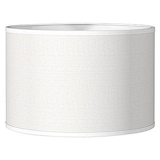 Home Sweet Home Lampenschirm Bling (Ø x H: 35 x 21 cm, Pure White, Baumwolle, Rund)