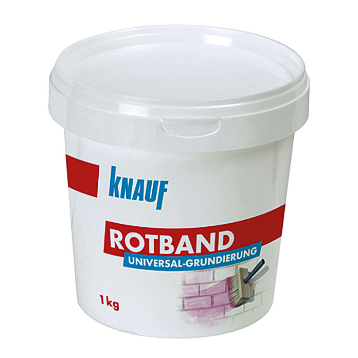 knauf rotband universalgrundierung 1 kg 5544 grundierung verguetung fada mauern renov. Black Bedroom Furniture Sets. Home Design Ideas