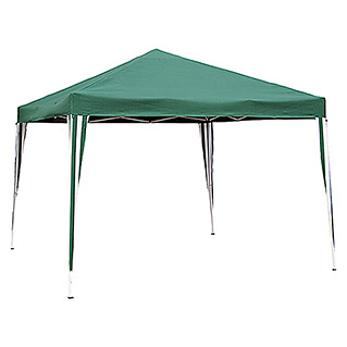 Carpa plegable Easy up (L x An x Al: 300 x 300 x 250 cm, Verde)