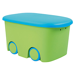 Plastiken Fresh Multibox Kids (L x An x Al: 58 x 38 x 32 cm, Verde)