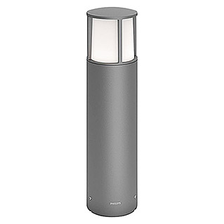 Philips Sobremuro LED Stock (6 W, Color: Gris oscuro, Altura: 40 cm, Tipo de protección: IP44)