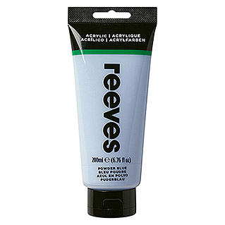 Reeves Acrylfarbe (Hellblau, 200 ml, Tube)