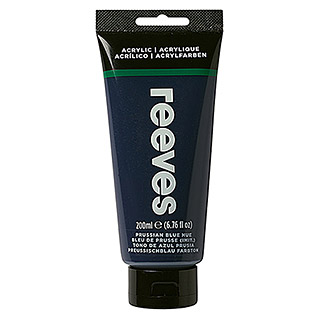 Reeves Acrylfarbe (Preußischblau, 200 ml, Tube)