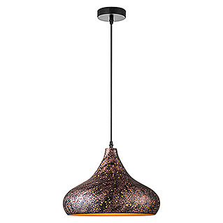 Home Sweet Home Pendelleuchte rund Rusty A (60 W, Rost, Höhe: 126 cm)