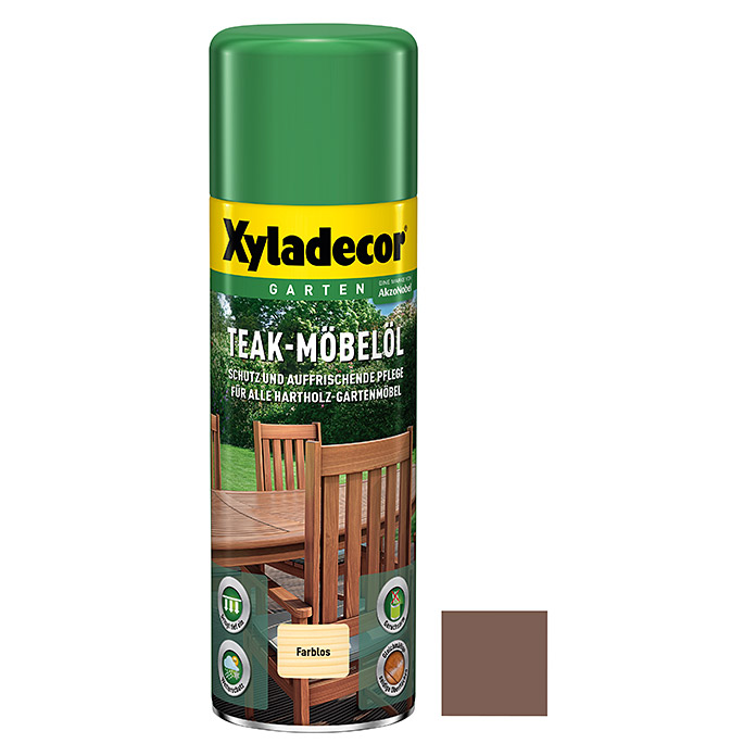 Xyladecor Möbel-Öl Spray (500 ml, Teak, Seidenglänzend)