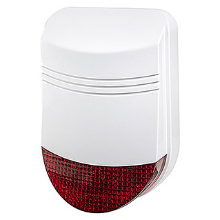 Safe2Home Alarmsirene SP110  (B x H: 150 x 320 mm, Passend für: Safe2Home Alarmanlage SP110/210, Alarmsignal: 105 dB)