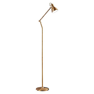Trio Lighting Lámpara de pie Jasper (18 W, Bronce, Altura: 140 cm)