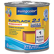 swingcolor Mix Buntlack 2in1 (Basismischfarbe, 375 ml, Seidenmatt)