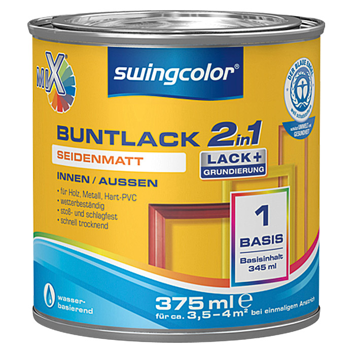 swingcolor Mix Buntlack 2in1 (375 ml, Seidenmatt)