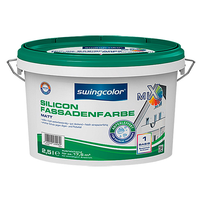 MIX SILICON-FASSADEN-FB BASIS 1    2,5 lSWINGCOLOR
