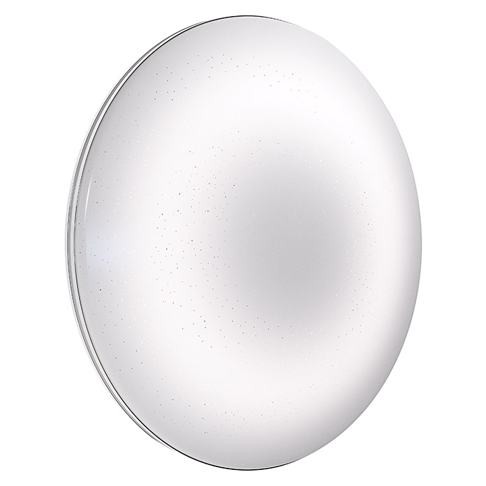 Osram Plafón LED para pared y techo Silara Sparkle (24 W, Color: Blanco, Ø x Al: 45 x 9,1 cm, 3.000 K)