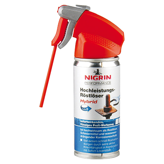Nigrin Performance Hochleistungs-Rostlöser Hybrid (100 ml)