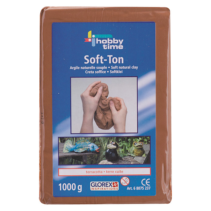 Glorex Hobby Time Softton (2.500 g, Terracotta)