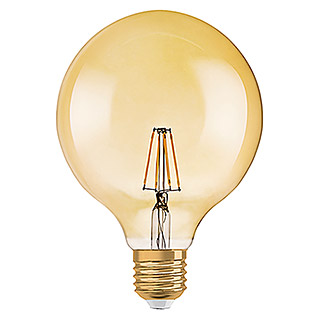 Osram Vintage 1906 LED-Leuchtmittel (7 W, E27, Warmweiß, Globe, Energieeffizienzklasse: A+)