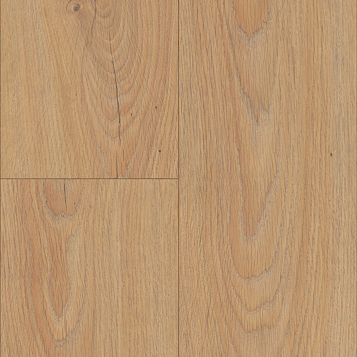 LOGOCLIC Laminat ALL IN Eiche natur (1.285 x 192 x 8 mm, Landhausdiele)