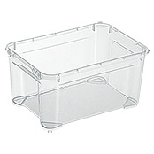Regalux Clear Box XXS (L x B x H: 25,6 x 18,1 x 13,6 cm, 4 l, Transparent)