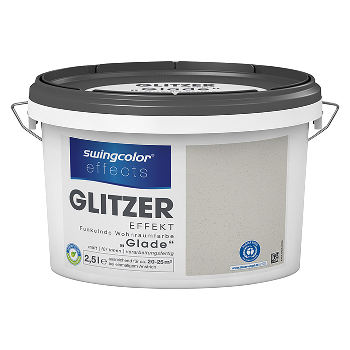 swingcolor effects Wohnraumfarbe Glitzer (Glade, 2,5 l, Matt)