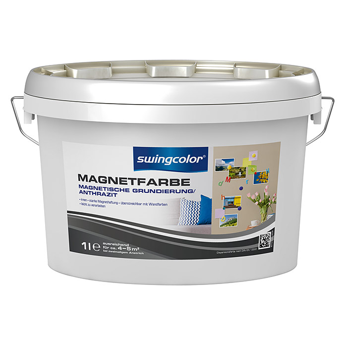 swingcolor Magnetfarbe (Anthrazit, 1 l)