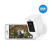 Ring Türkamera Spotlight Cam Battery (Weiß, Akku, 2 Wege Kommunikation, IP64)