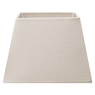 Home Sweet Home Lampenschirm Melrose (L x B x H: 20 x 20 x 14 cm, Warm White, Stoff, Eckig)