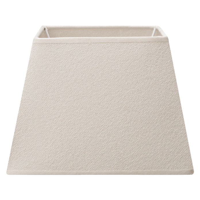 Home Sweet Home Lampenschirm Melrose (L x B x H: 14 x 20 x 14 cm, Warm White, Stoff, Eckig)