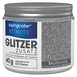 swingcolor effects Glitzereffekt-Zusatz (40 g, Multicolor)