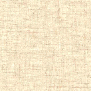 FREUNDIN HOME COLLECTION Natural Charme Vliestapete (Creme, Uni, Leinenartige Struktur, 10,05 x 0,53 m)