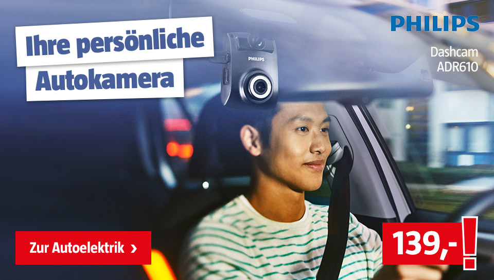 Philips Dashcam ADR610