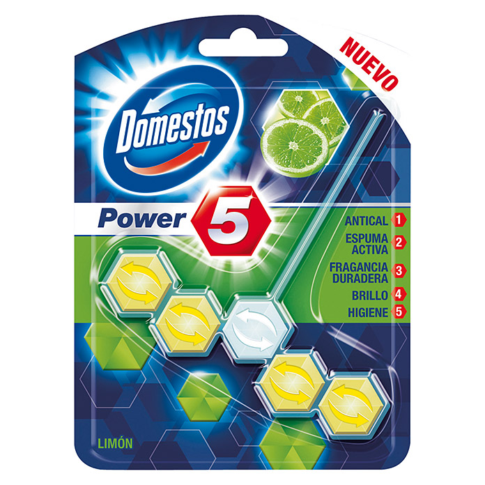 Domestos Pastillas WC Power 5 (50 g)