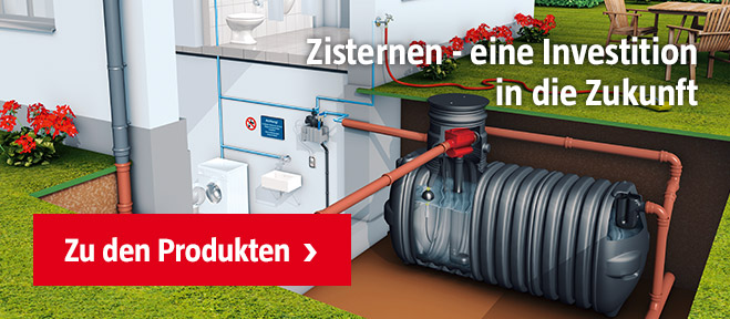 Regenwassertanks & Zisternen