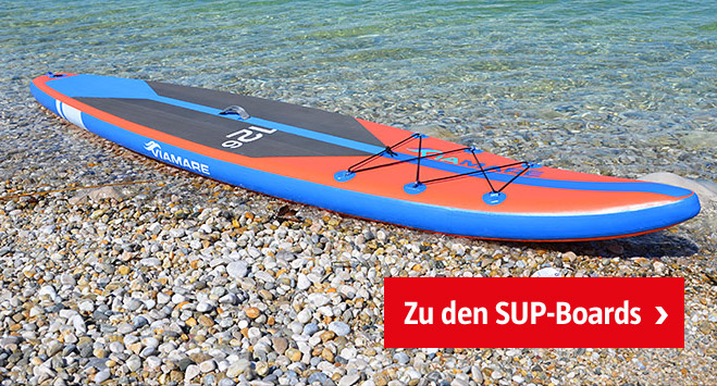 Stabile SUP-Boards bei BAUHAUS