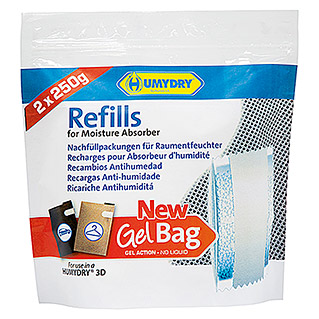Humydry Almohadilla antihumedad Antihumedad Gel Bag (Neutral, 2 uds.)