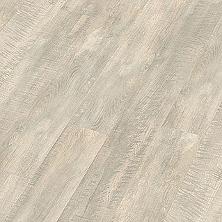 Decolife Vinylboden Watercork Silver Snow Oak (1.225 x 145 x 6 mm, Landhausdiele)