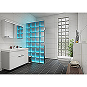 Fuchs Design Glasbaustein Komplettset Light my Wall (B x H: 78 x 175,5 cm, Klar, Vollsicht)
