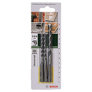 Bosch Set brocas multiuso SDS-Quick (3 piezas)