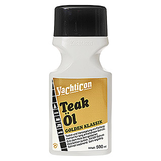 Yachticon Teak-Öl Golden Klassik (500 ml, Gold)