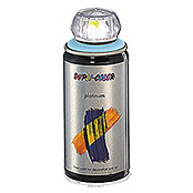 Dupli-Color Buntlack-Spray platinum (Eisblau, 150 ml, Seidenmatt)